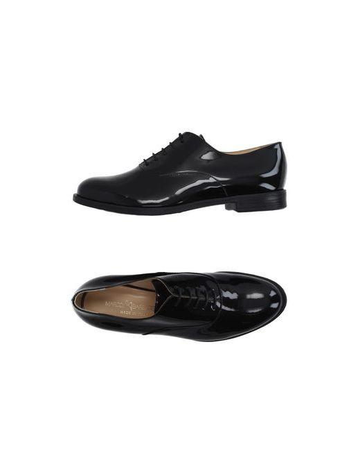 MARCO BARBABELLA   Мужская Чёрная Обувь На Шнурках