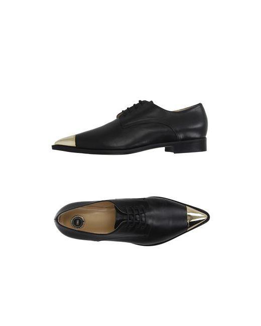 ELISABETTA FRANCHI | Мужская Чёрная Обувь На Шнурках