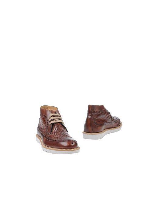 SCICCO | Мужские Коричневые Полусапоги И Высокие Ботинки