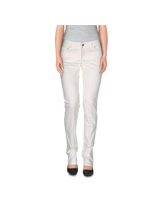 Trussardi Jeans   Мужские Белые Повседневные Брюки
