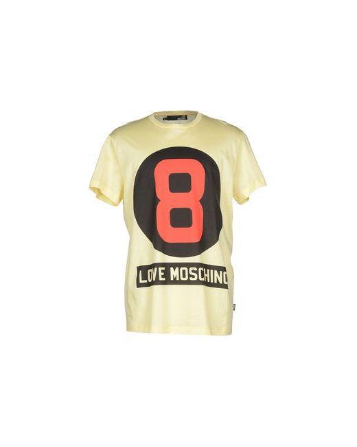 Love Moschino | Женская Жёлтая Футболка