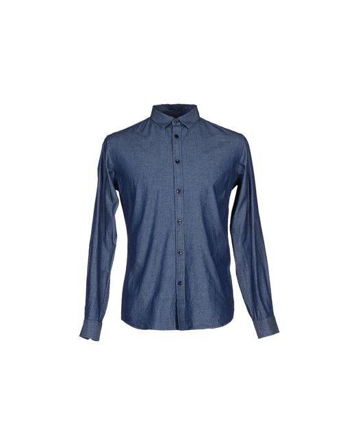 Billtornade | Женская Синяя Джинсовая Рубашка
