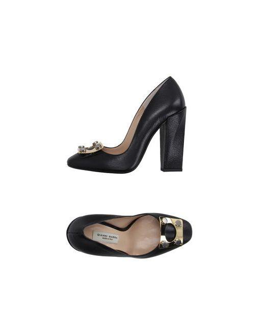 Gianni Marra | Женские Чёрные Туфли
