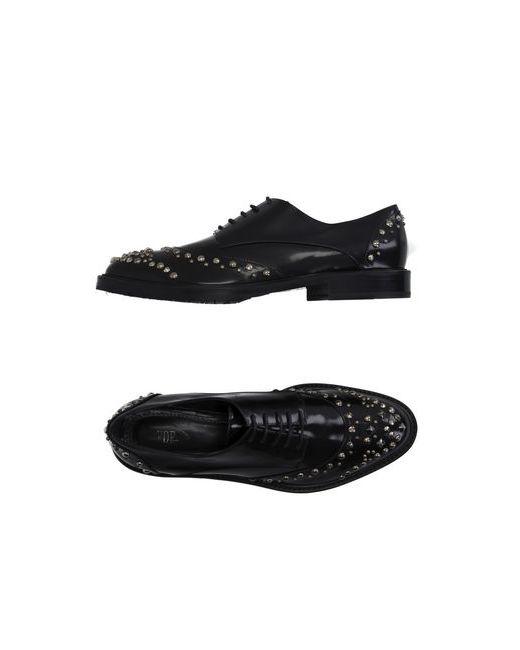 Vdp Collection | Мужская Чёрная Обувь На Шнурках