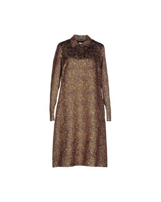 Rochas | Женское Какао Платье До Колена