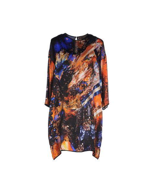 Space Style Concept | Женское Коричневое Короткое Платье
