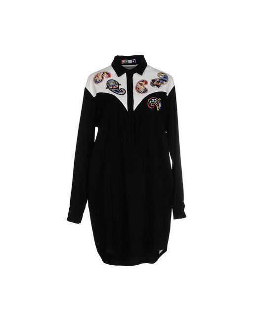 MSGM   Женское Чёрное Короткое Платье