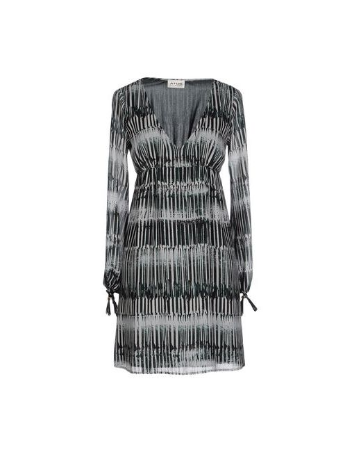 ATOS LOMBARDINI | Женское Зелёное Короткое Платье