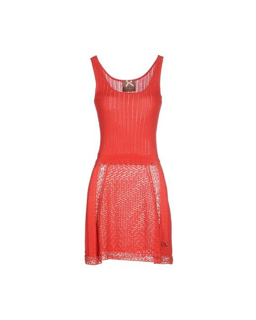 Atelier Fixdesign   Женское Розовое Короткое Платье