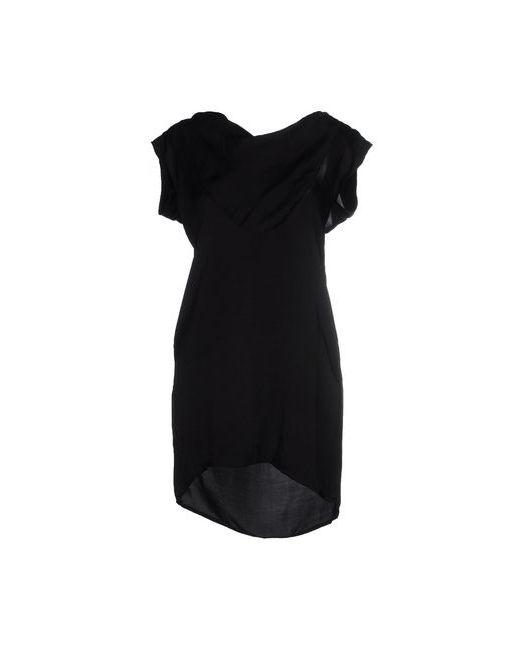 Manila Grace | Женское Чёрное Короткое Платье