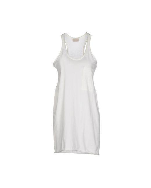 Laneus | Женское Слоновая Костящее Короткое Платье