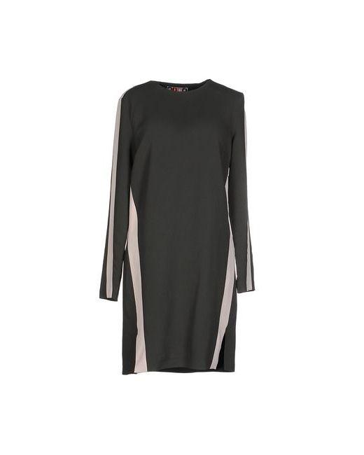 MSGM | Женское Зелёное Короткое Платье