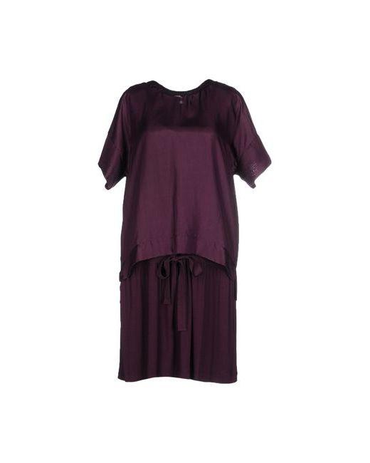Hoss Intropia | Женское Баклажанное Короткое Платье