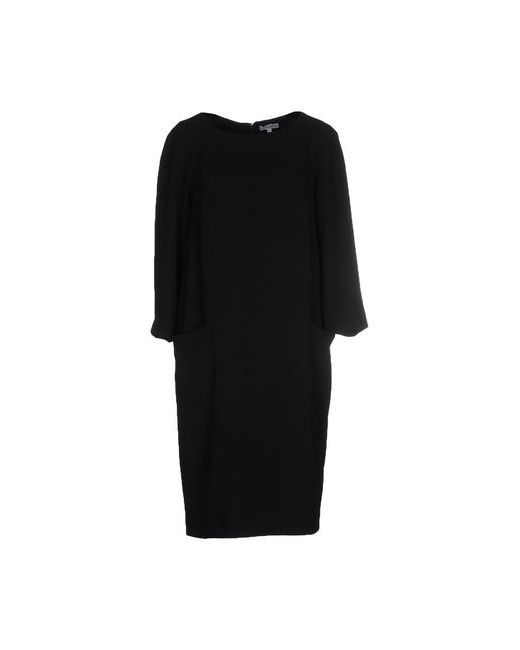 Stefano Mortari | Женское Чёрное Платье До Колена
