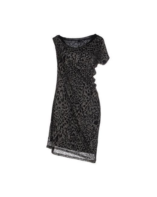 REBEL QUEEN | Женское Серое Платье До Колена