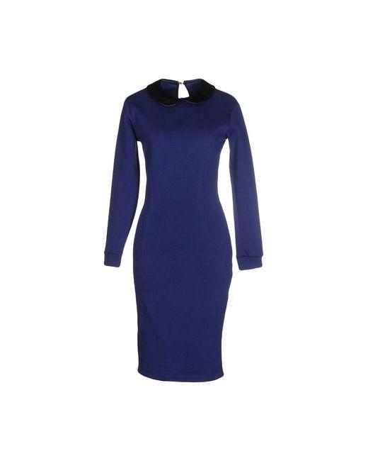 Cycle | Женское Синее Платье До Колена