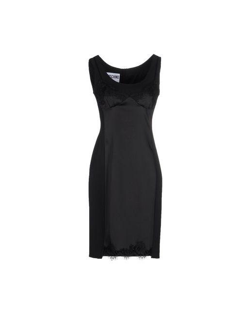 Moschino Couture | Женское Чёрное Короткое Платье