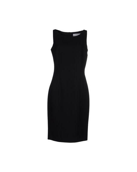 Gai Mattiolo | Женское Чёрное Платье До Колена