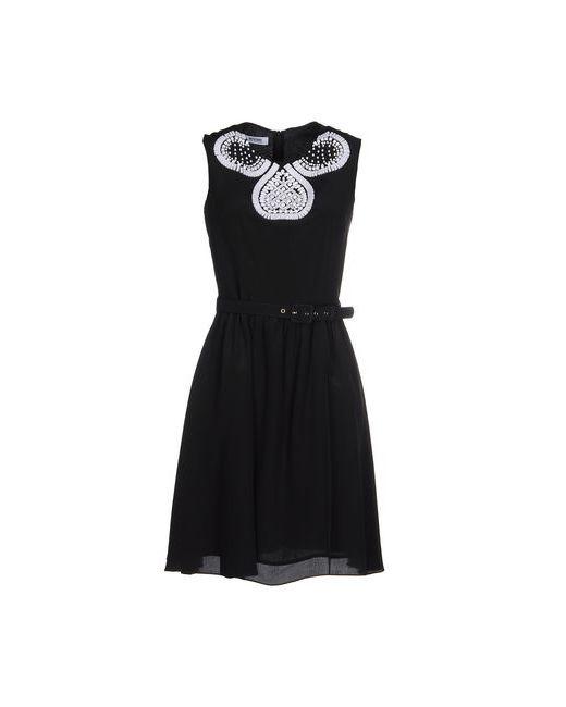 Moschino Cheap and Chic | Женское Чёрное Короткое Платье