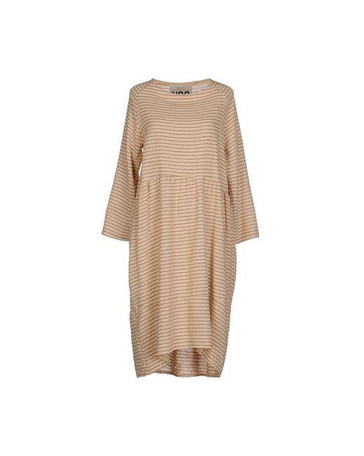 ANIYE N°2 | Женское Песочное Платье До Колена