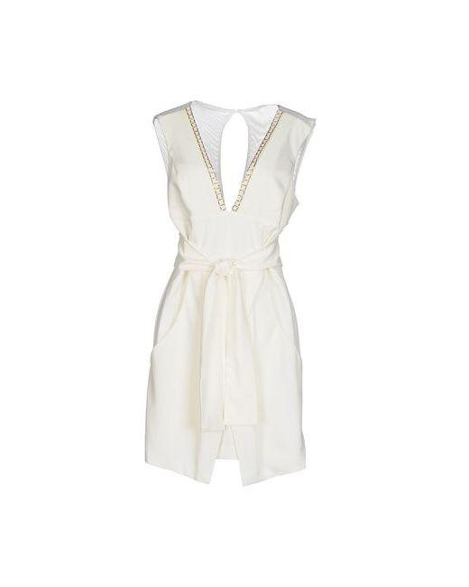Annarita N. | Женское Слоновая Костящее Короткое Платье
