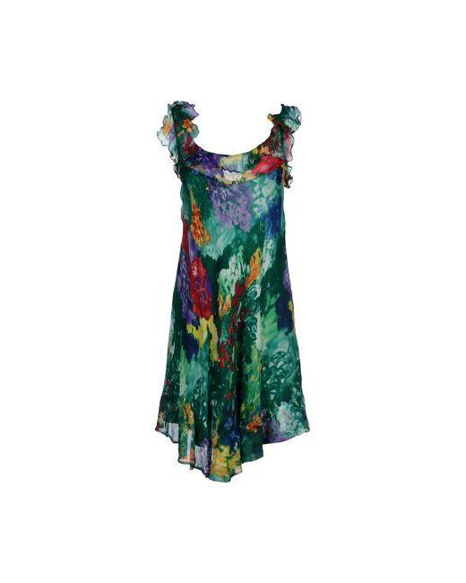 Aspesi   Женское Зелёное Платье До Колена