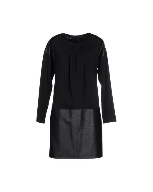 ATOS LOMBARDINI | Женское Чёрное Короткое Платье