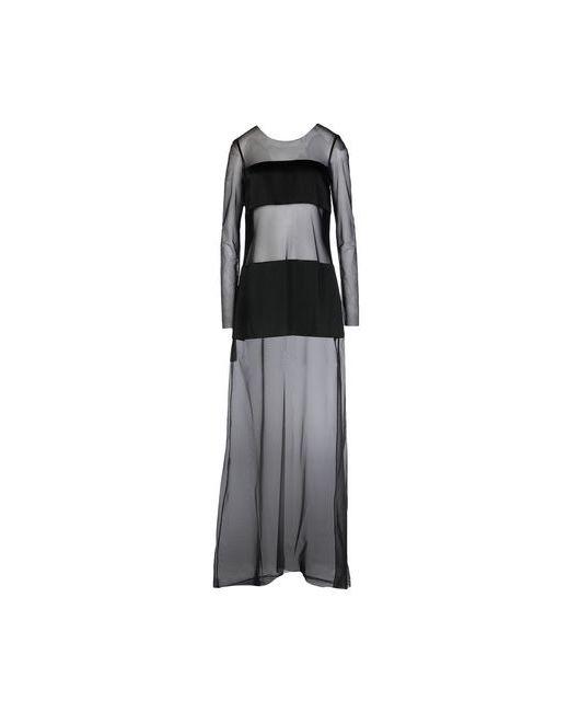 Dondup   Женское Чёрное Длинное Платье