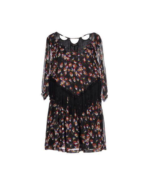 ALMAGORES | Женское Чёрное Короткое Платье