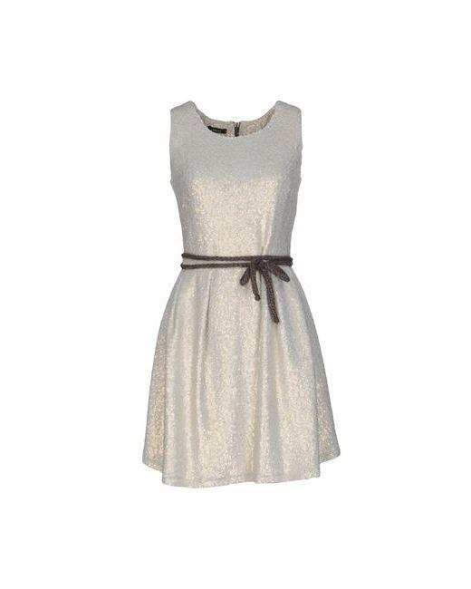 Hanita | Женское Бежевое Короткое Платье