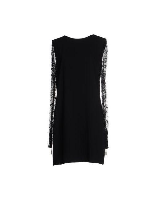 Mangano   Женское Чёрное Короткое Платье