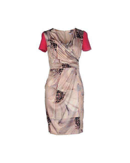 Cristinaeffe   Женское Песочное Короткое Платье
