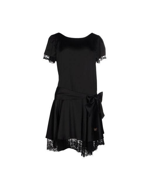 Atelier Fixdesign   Женское Чёрное Короткое Платье