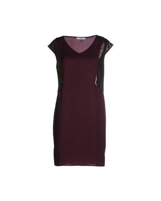 Liu •Jo Jeans   Женское Баклажанное Короткое Платье