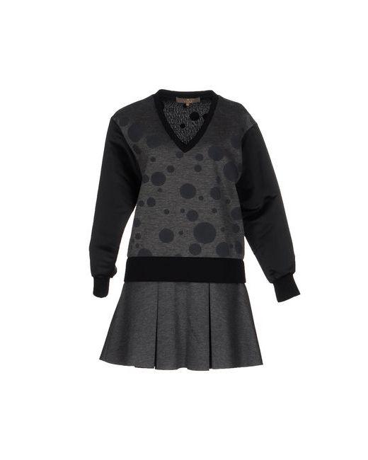 Space Style Concept | Женское Серое Короткое Платье