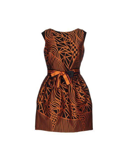 Hanita | Женское Оранжевое Короткое Платье