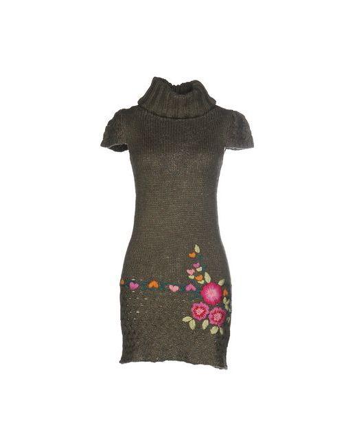 Desigual   Женское Зелёное Короткое Платье
