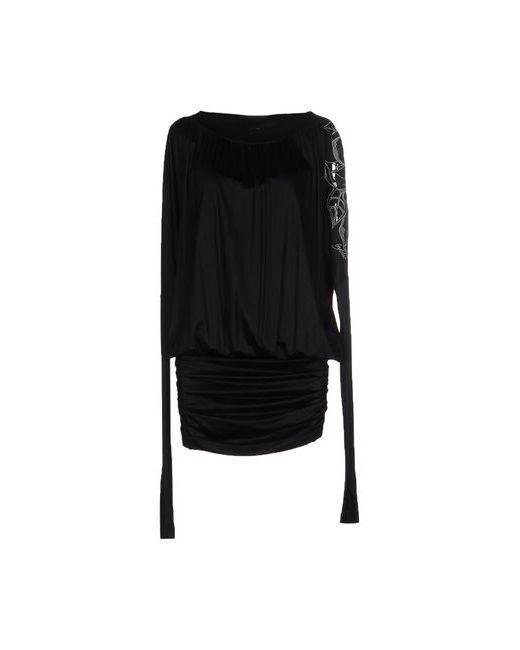 Byblos | Женское Чёрное Платье До Колена