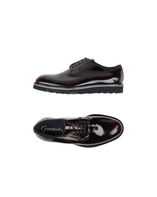 Geremia | Мужская Синяя Обувь На Шнурках