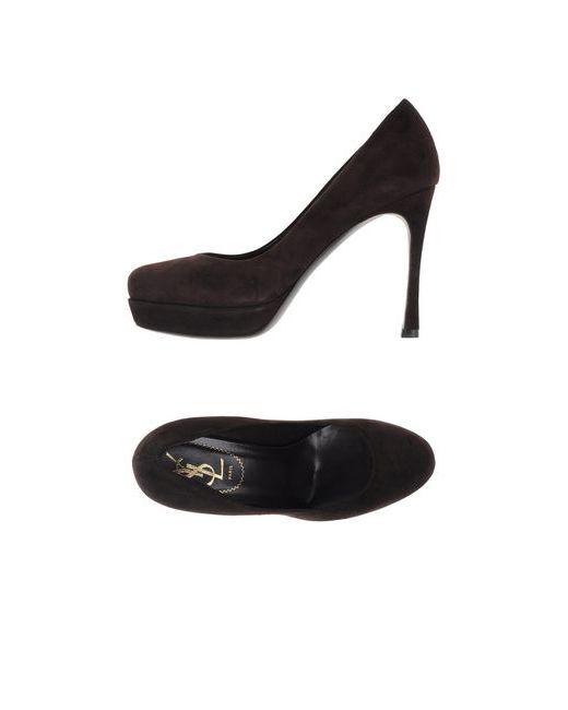Yves Saint Laurent Rive Gauche   Женские Коричневые Туфли