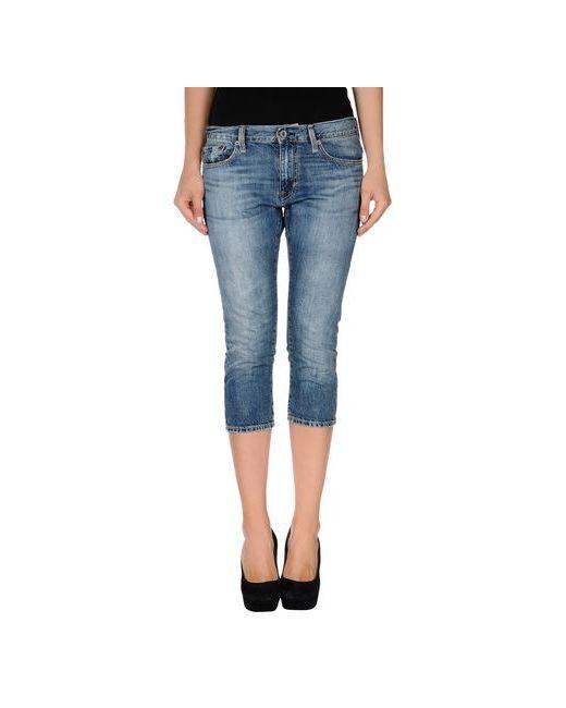 Polo Jeans Company | Мужские Синие Джинсовые Брюки-Капри