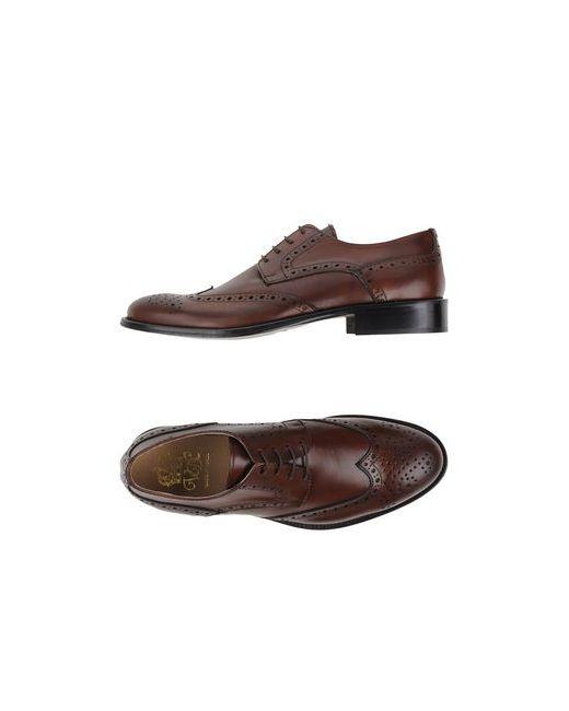 Via Dei Calzaiuoli | Мужская Чёрная Обувь На Шнурках