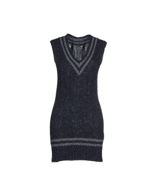 Fred Perry | Женское Синее Короткое Платье