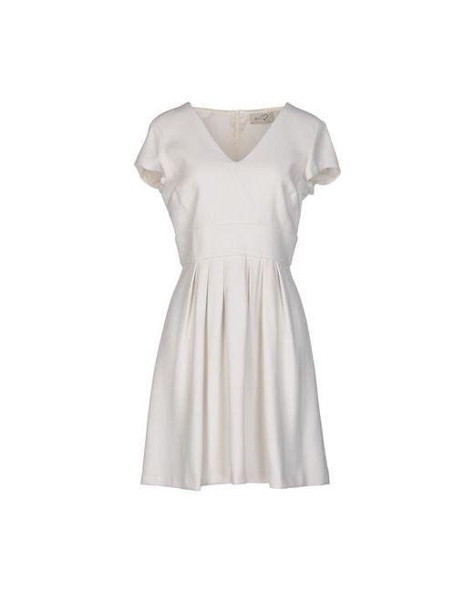 Ki6? Who Are You?   Женское Белое Короткое Платье
