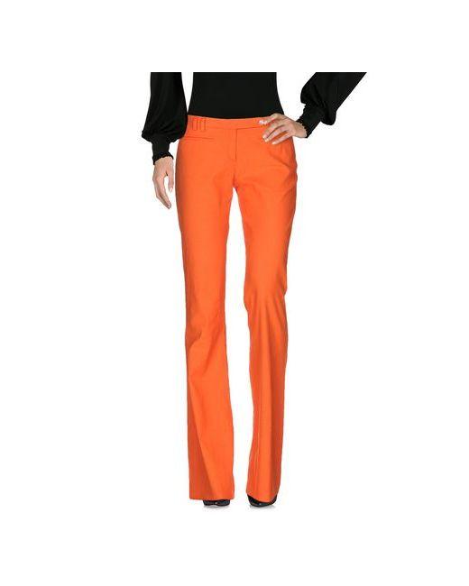 Versace   Мужские Оранжевые Повседневные Брюки