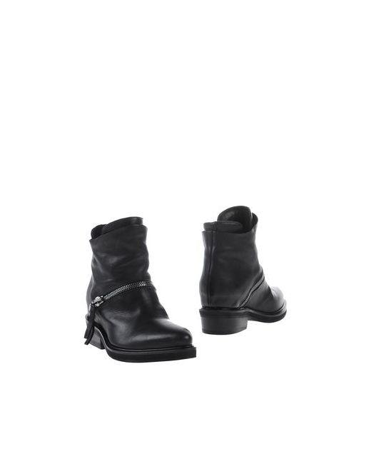 Cinzia Araia | Женские Чёрные Полусапоги И Высокие Ботинки