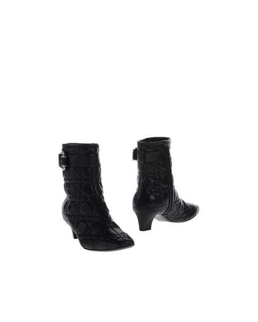 Dior   Женские Чёрные Полусапоги И Высокие Ботинки