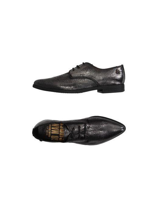Replay   Мужская Серая Обувь На Шнурках