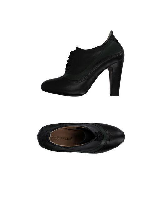 Bruno Premi | Мужская Чёрная Обувь На Шнурках