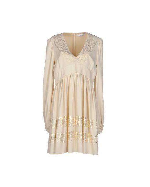 Blugirl Blumarine | Женское Слоновая Костящее Короткое Платье